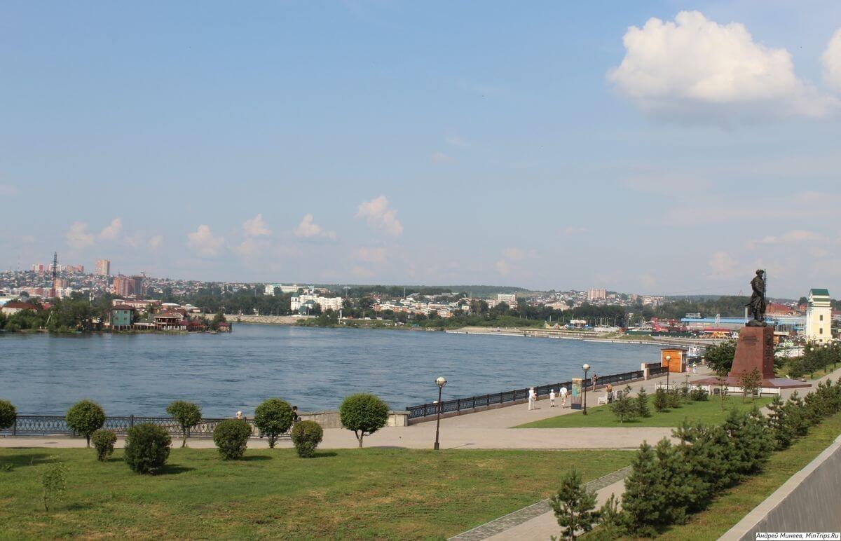 притоки реки ангара - Иркустк фото