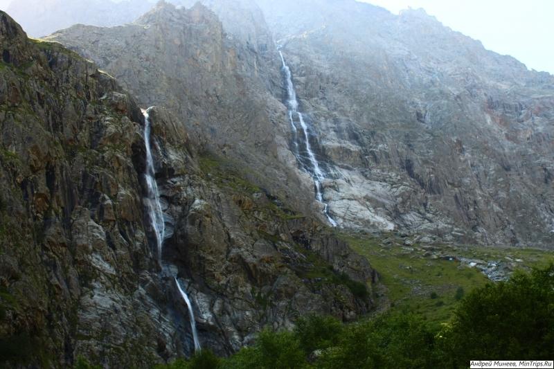 Мидаграбинские водопады на кавказе