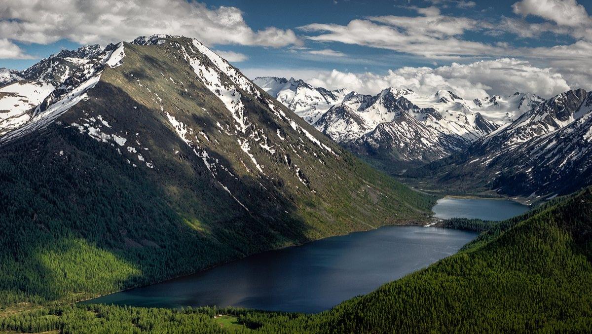 Мультинские озера горный Алтай фото