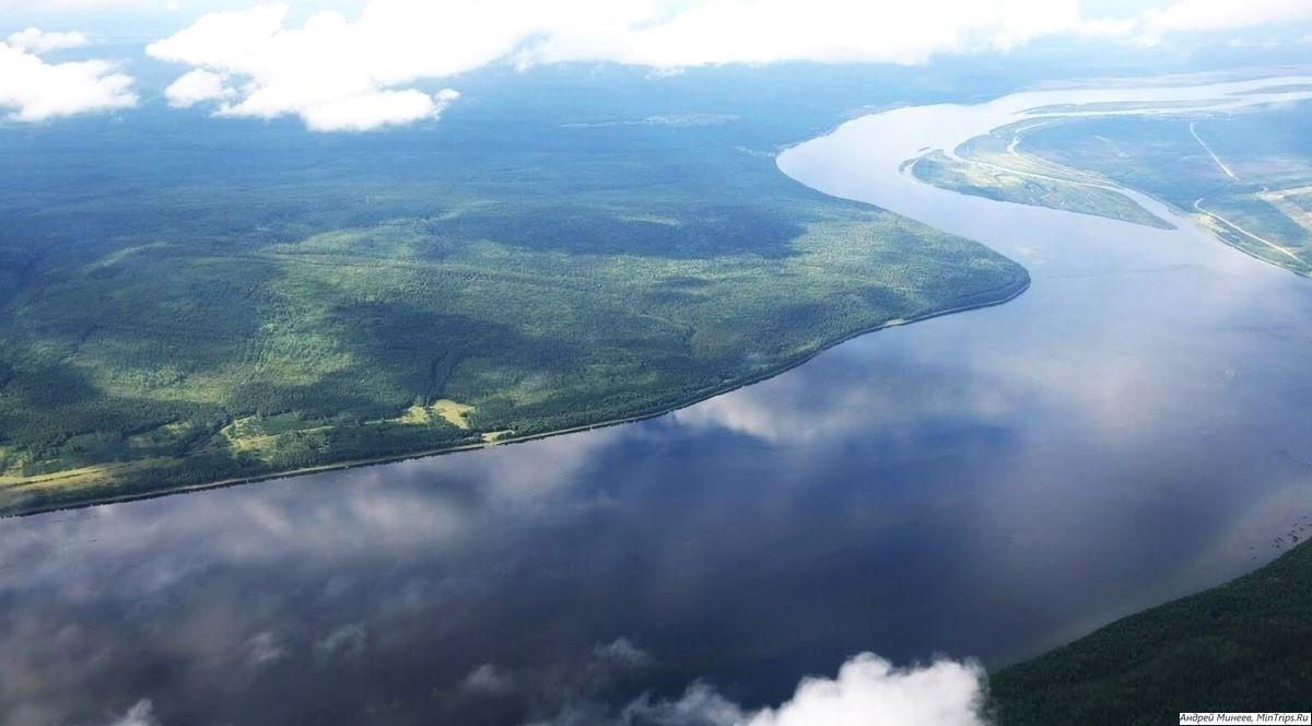 Река Ангара в России