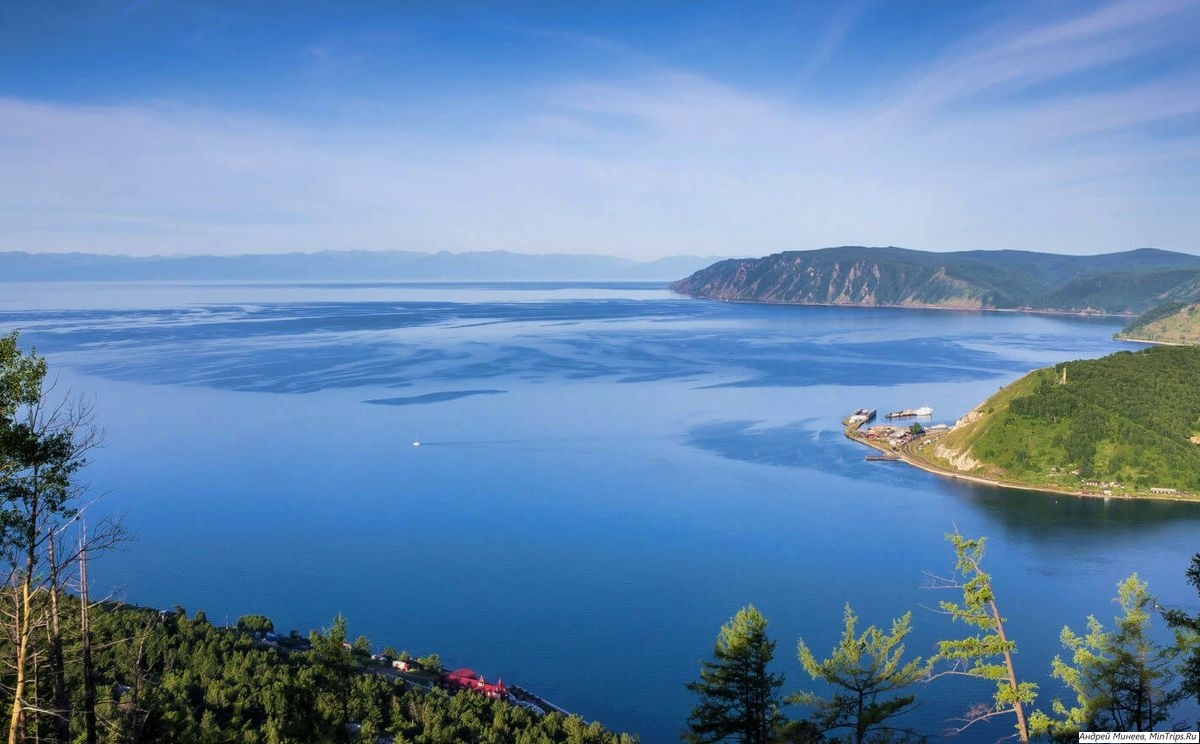 река Ангара исток - озеро Байкал