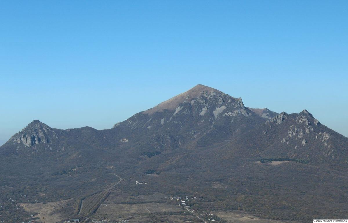 гора Бештау Пятигорск - фото с Машука