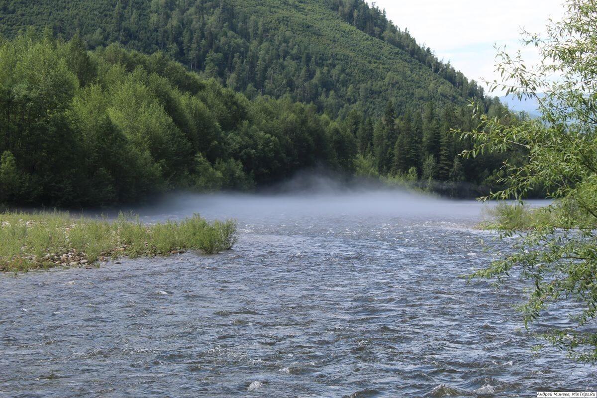 река Хара-Мурин - маршрут на Водопад Чарующий