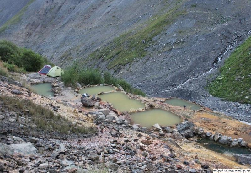 верхние Кармадонские ванны в Северной Осетии