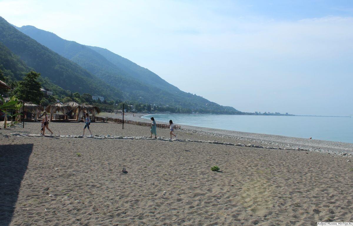 Пляжи Абхазии отзывы