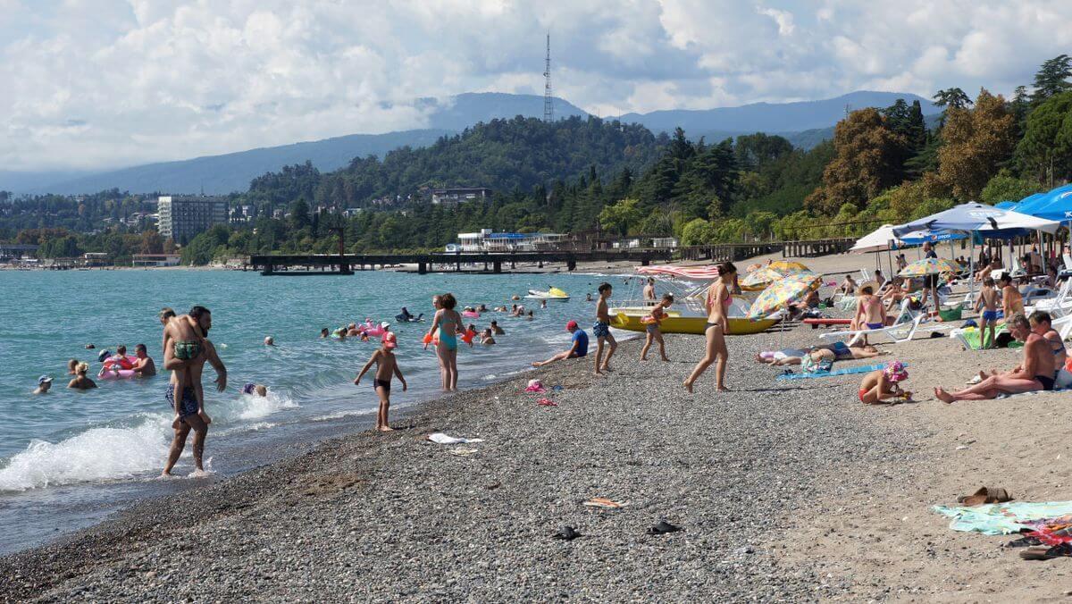 насекомые абхазия фото пляжей с детьми нашей