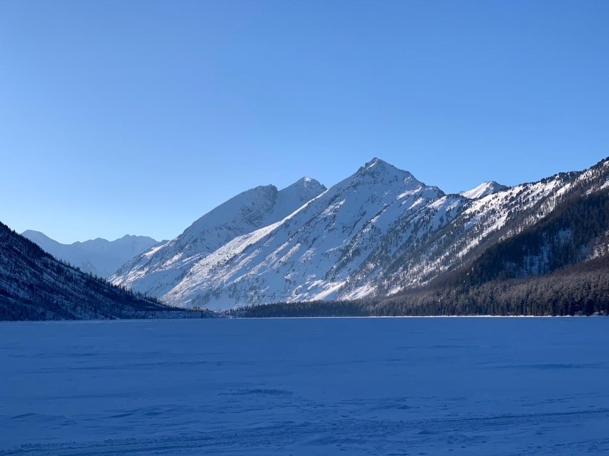 Мультинские озера зимой фото