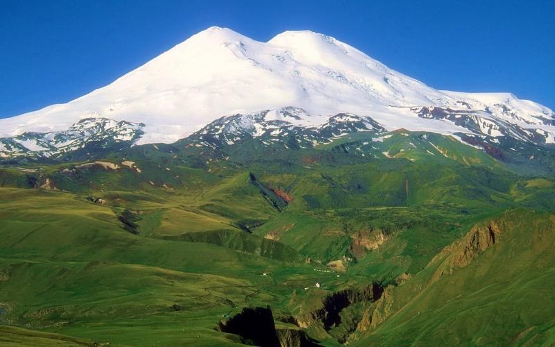 гора Эльбрус Кавказ фото