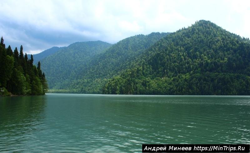 достопримечательности Абхазии - озера