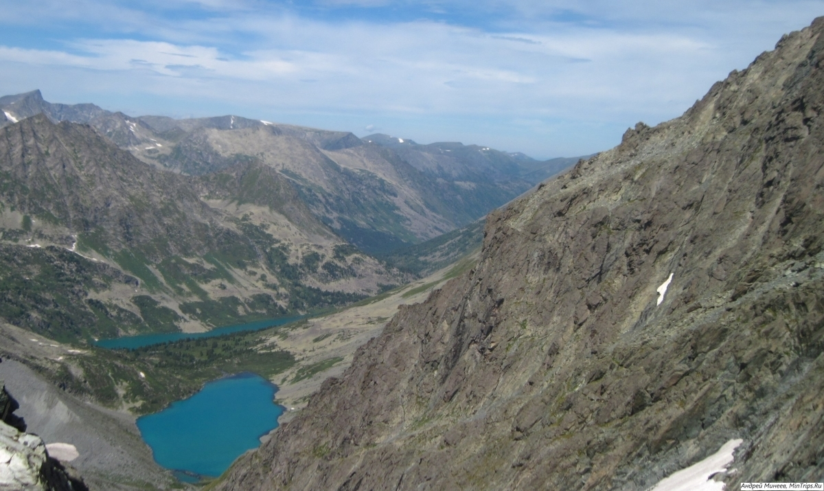 поперечные озера фото с перевала ПГПИ